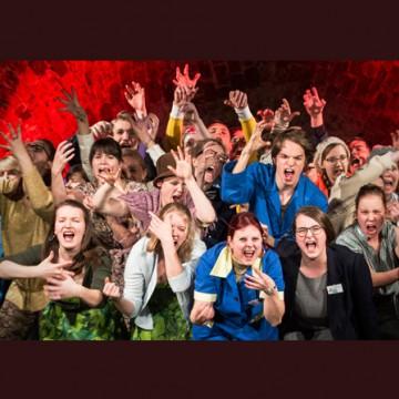 »Wahrheit oder Pflicht«   Jugendchor der Oper Leipzig