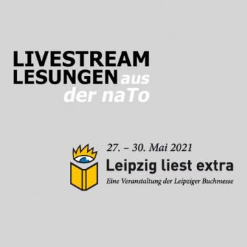 Veranstaltungsbild für ONLINE: »Leipzig liest extra« Streams aus der naTo weiter verfügbar!