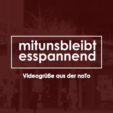 Veranstaltungsbild für ONLINE: #mitunsbleibtesspannend | Videogrüße aus der naTo
