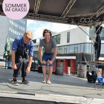 SOMMER IM GRASSI: Das Labor Open Air | TheaterTurbine